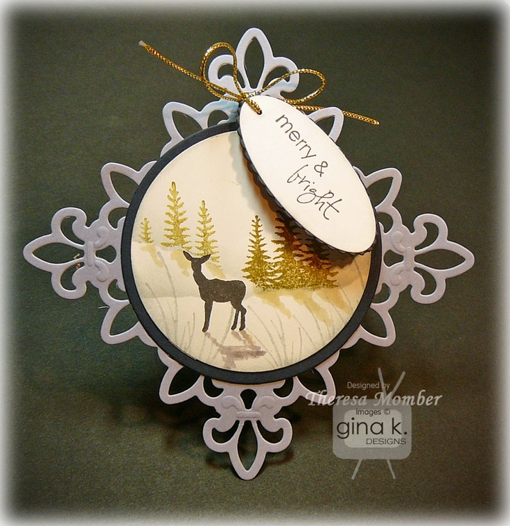 Card Making Ideas Gina K Part - 28: Back To Most Recent Tutorials 2010 Tutorials 2009 Tutorials Lone Wolf  Purple Mountains Peachy Dogwo. Find This Pin And More On Gina K Card ...