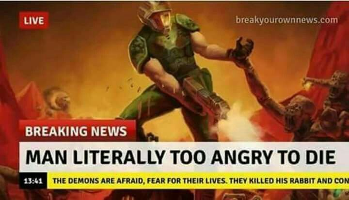Doomguy Gaming Memes Video Game Memes Video Games Funny