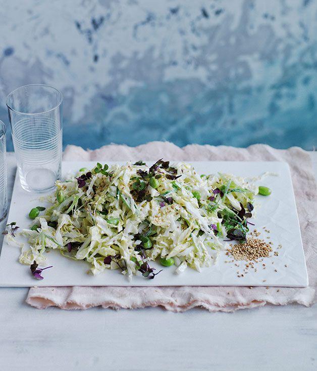 Australian Gourmet Traveller recipe for Japanese cabbage salad.