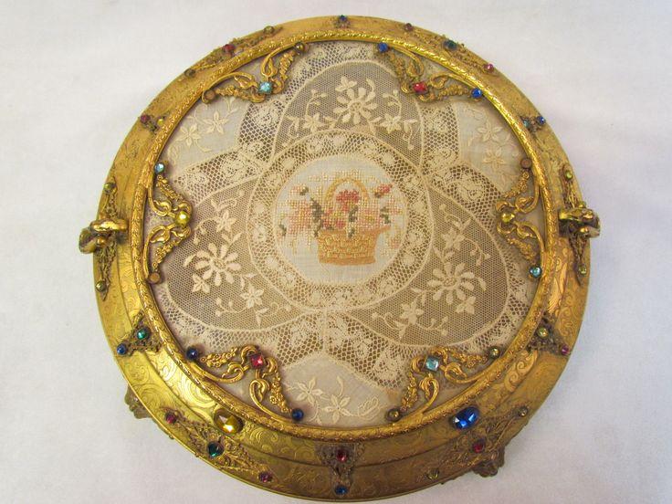 apollo jeweled vanity box - Google Search   Vintage Jeweled Gold Ormulo Vanity  Trays, Boxes & Perfume Bottles   Pinterest   Vanities, Vanity tray and ... - Apollo Jeweled Vanity Box - Google Search Vintage Jeweled Gold