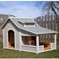 Precision Outback Savannah Dog House with Porch  Item# PPP103    Our Price: $379.99SAVE: $80.00 (17%)    List Price: $459.99
