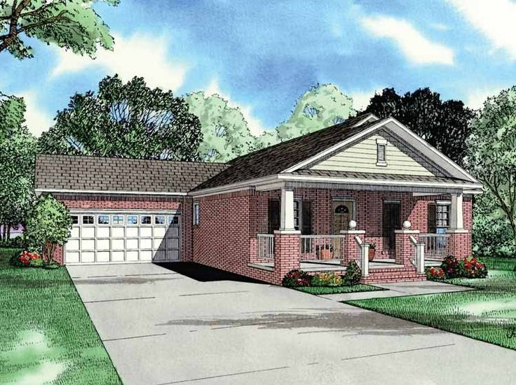 Eplans bungalow house plan three bedroom bungalow 1250 for 1250 sq ft bungalow house plans