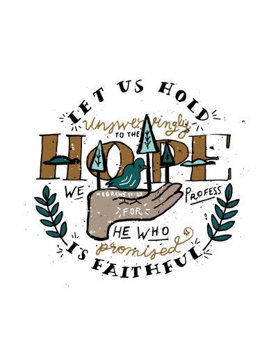 46/52: Hebrews 10:23 Full size Buy here