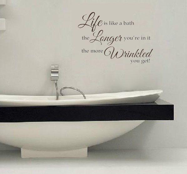 Жизнь, Как .... более whinkled наклейки на стены виниловые наклейки домашнего декора гостиной обои небольшие ванные комнаты декор фрески