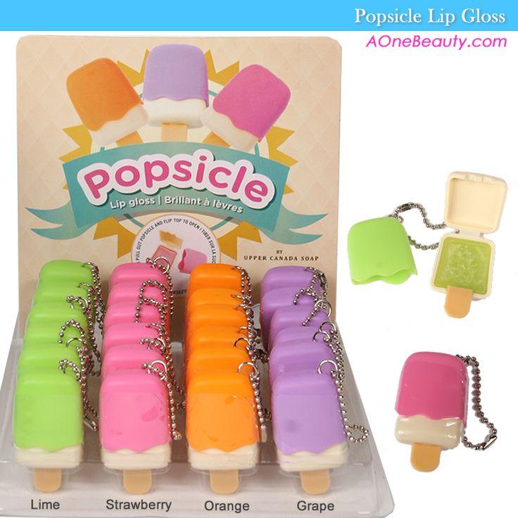 Upper Canada Soap Popsicle Lip Gloss Lips