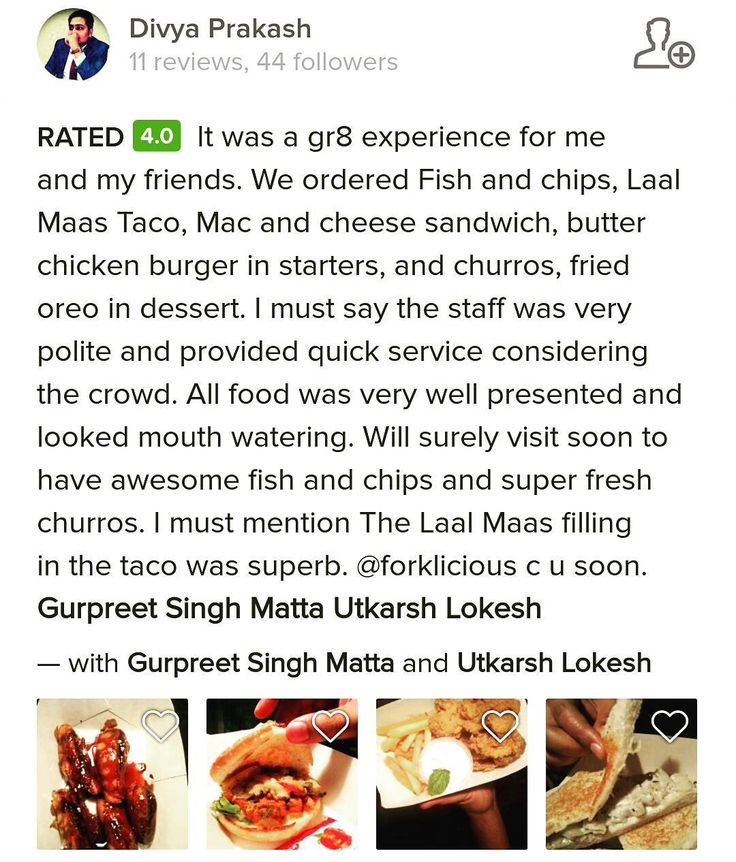 Striving for your appreciation everyday! And your reviews make everyday worth it! Thankyou for being kind and appreciating our efforts!  Review by @div_liv_free !   #Forklicious #FoodTruck #DelhiWinters #DelhiFood #DelhiEats #AshokVihar