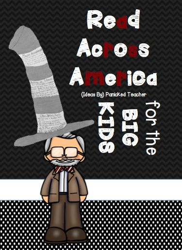 Panicked Teacher's Blog: Read Across America in the Upper Grades!