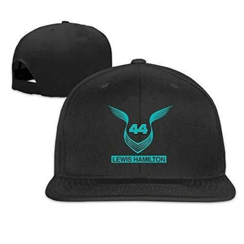 Lewis Hamilton 44 Men And Women Black Adjustable Baseball Cap Hisper Hat   Peakyblinders 069f66fe1433