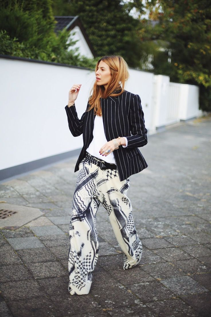 This would be a real stretch for me but I love the pattern and style of the pants.