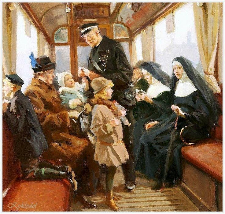 A Mother by Erik Ludvig Henningsen (Danish, 1855 - 1930)
