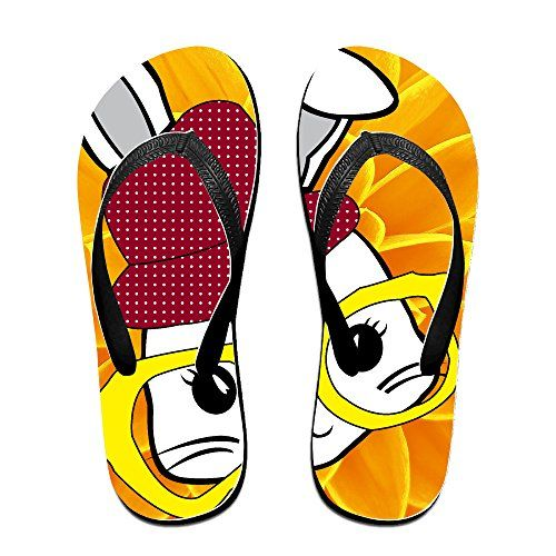 Shehe Mister Rabbit Unisex Leisure Beach Flipflops Flops L >>> Click image to review more details.