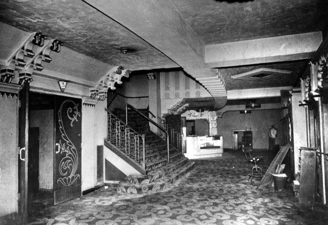 lincoln theatre lobby area sometimes referred to as the