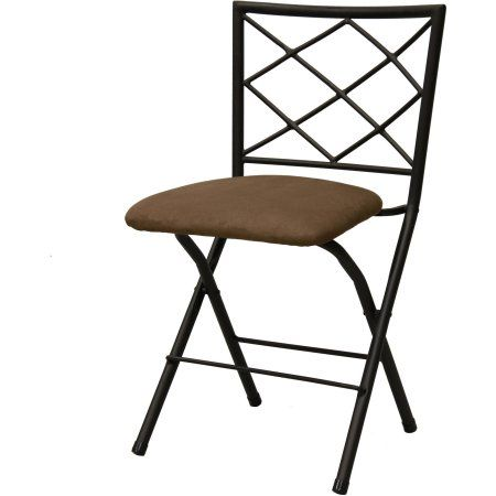 mainstays diamond xback bronze folding dining chair multiple colors - Walmart Fold Up Chairs