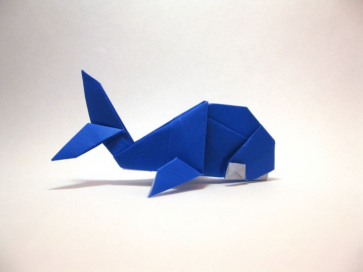 Origami Whale | Designed and folded by Mindaugas Cesnavicius ...