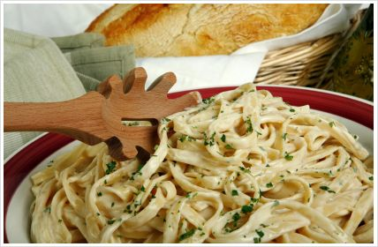 Fettuccine Alfredo (serves 2-4)    A pasta dish made from fettuccine pasta tossed with parmesan cheese and butter, Fettuccine Alfredo is a popular Italian dish which is very quick to make by following this easy recipe. Surprisingly, traditional Fettuccine Alfredo doesn't contain mushrooms or ham but I've included it in the recipe as that is what we South Africans are used to! Feel free to leave these two ingredients out if you would rather keep it traditional.  Ingredients:    500g dried…