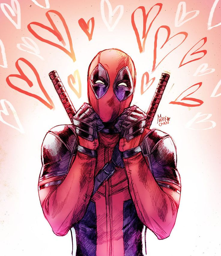 Cute Deadpool is here by Maby-chan on DeviantArt