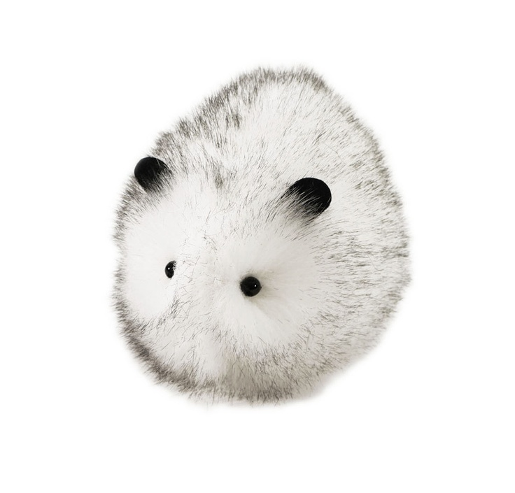 Snowball Stuffed White Guinea Pig Plushie Medium Size. $22.00, via Etsy.