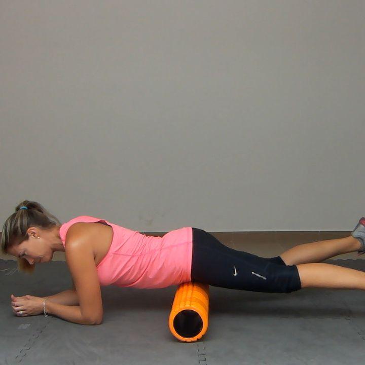 Foam Roller Hip Flexor Exercise