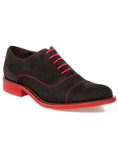 "Donald J Pliner Men's ""Ember"" Leather Oxford sexy colors"