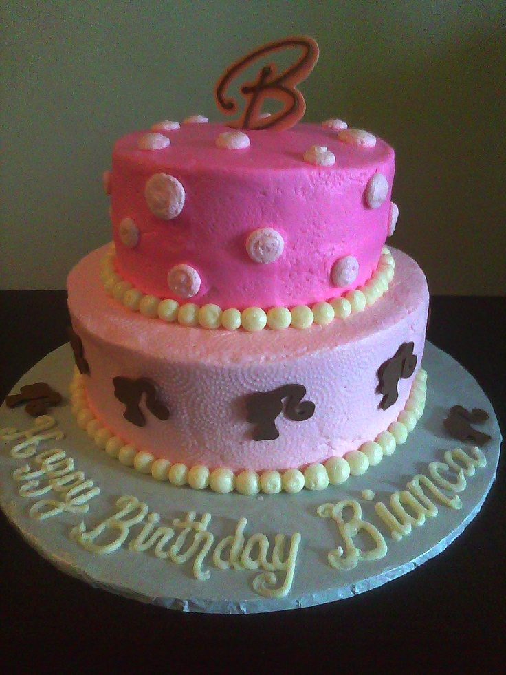 Birthday Cake Designs Barbie : Best 25+ Barbie birthday cake ideas on Pinterest Doll ...