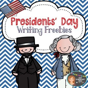 Presidents' Day Writing Freebies