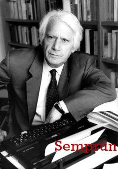 Jorge Semprún (Madrid, 1923) Político, escritor y cineasta en lenguas de española y francesa. En 1939 se exilió en Francia. Colaboró con la Resistencia desde 1941 y fue internado en el campo de concentración de Buchenwald entre 1943 y 1945. Afiliado al Partido Comunista de España en 1952, desde 1954 fue miembro del comité central y desde 1956 del ejecutivo, hasta su expulsión por disidencias ideológicas (1965). Desde entonces fijó su residencia en Francia y se dedicó a la literatura