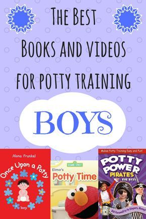 The Best Potty Training Books and Videos for Boys
