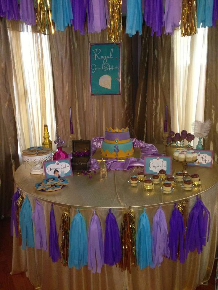 25 best ideas about aladdin birthday party on pinterest for Aladdin decoration ideas