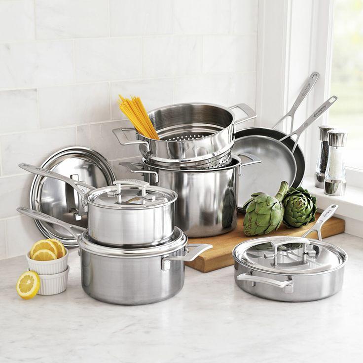 Demeyere® Industry5 10-Piece Cookware Set   Sur La Table