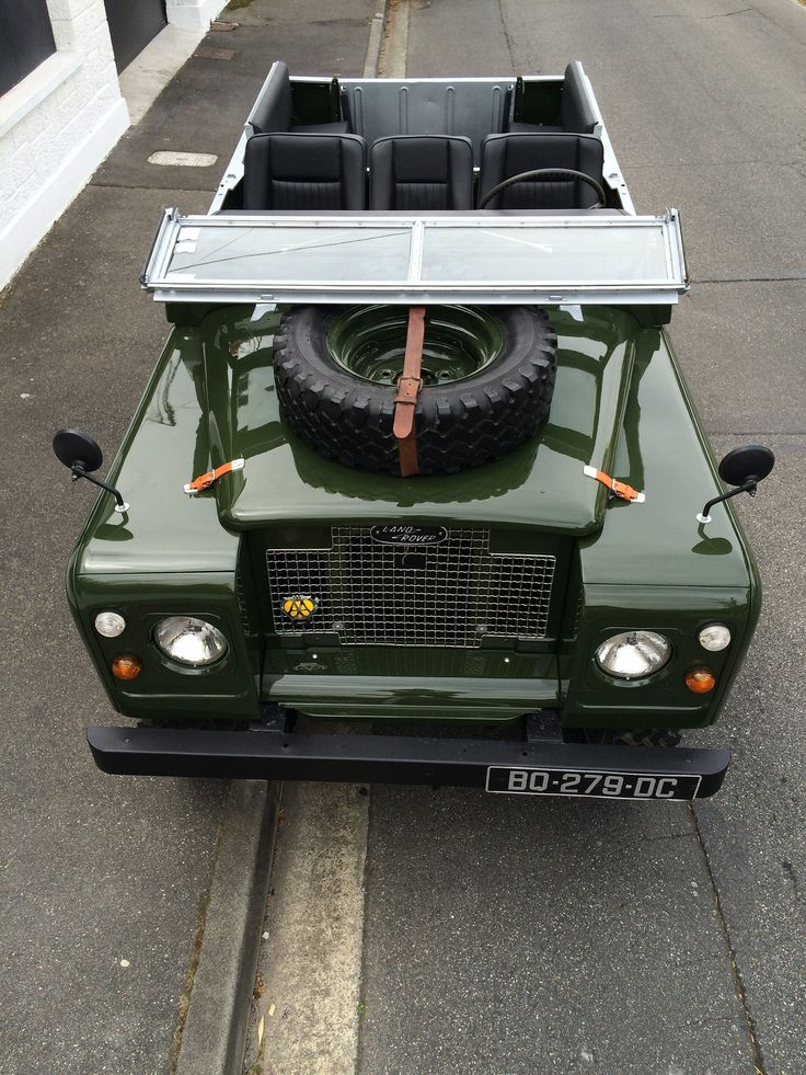 https://flic.kr/p/GZv3wu | Land Rover Series Bronze Green