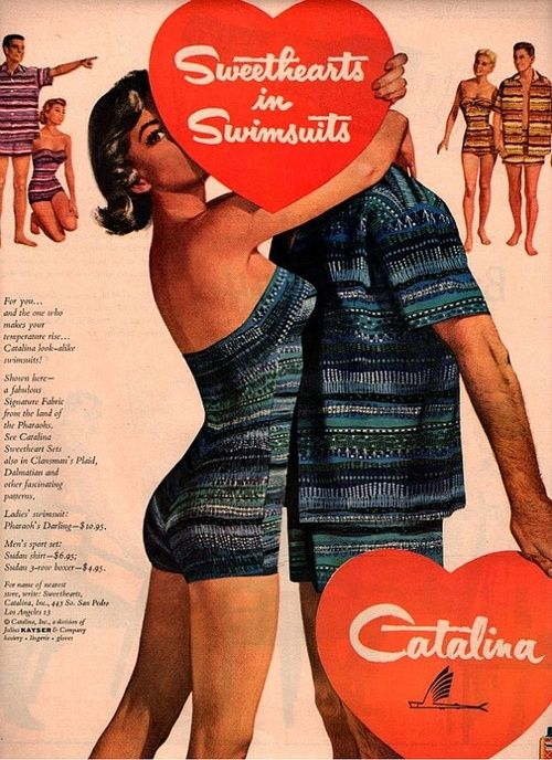 Catalina swimsuits, 1948.