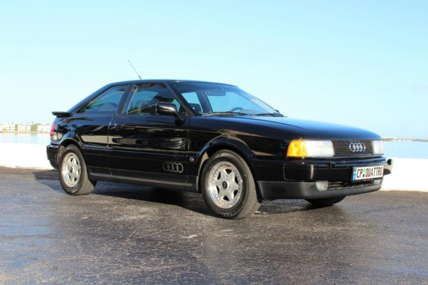 31K-Mile 1990 Audi Coupe Quattro 5-Speed