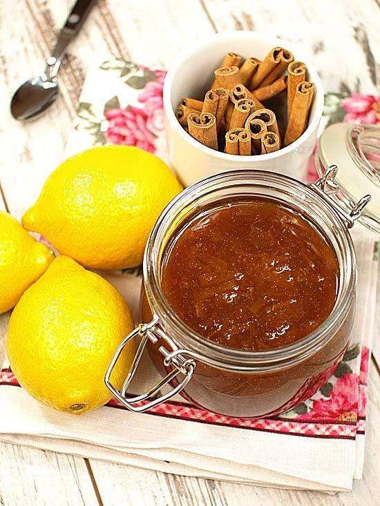 Konfitura cytrynowa z cynamonem - najlepsza na świecie :)