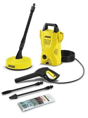 K 2 Compact Home Pressure Washer - 1.673-127.0 - http://www.hall-fast.com/industrial-commercial-equipment/janitorial-equipment/professional-cleaning-solutions/karcher-high-pressure-cleaners/karcher-cold-water-high-pressure-cleaners/k-2-compact-home-pressure-washer/