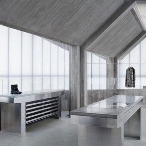 """Sophie+Hicks+conceals+""""concrete+monster""""+within+translucent+walls+for+Acne+Studios'+Seoul+flagship"""