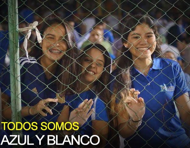 Todos Somos Azul Y Blanco