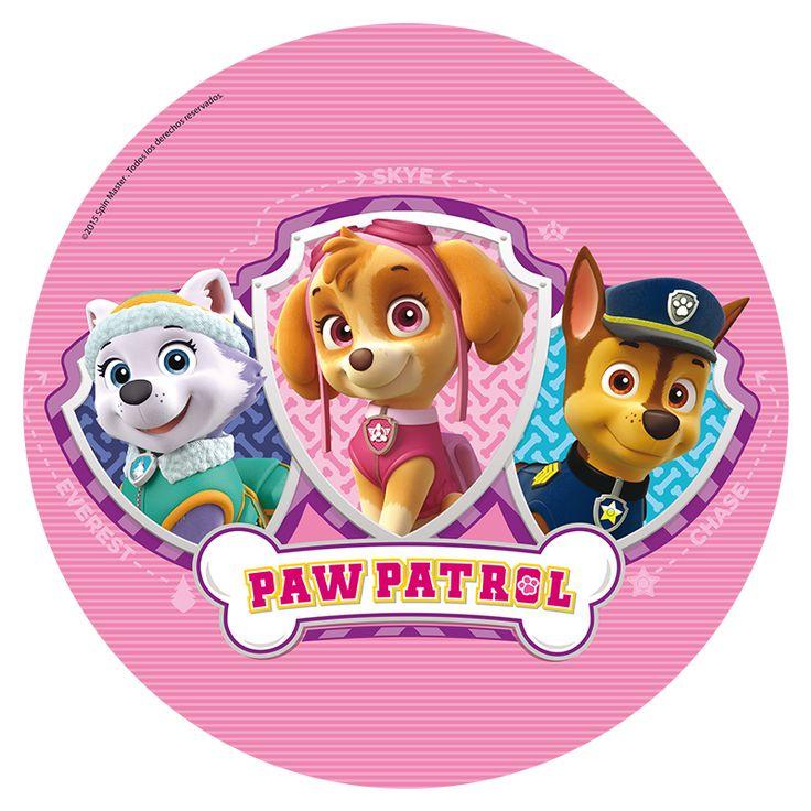 Oblea para tarta de la Patrulla Canina en color rosa. Mide 20 cms de diámetro y es de fécula. Ideal para hacer tu tarta casera  #patrullacanina #cumpleañospatrullacanina #cumpleañospawpatrol #pawpatrolbirthday #fiestapatrullacanina #fiestapawpatrol #pawpatrolparty #pawpatrolpartydecoration #chiquiparty #cumpleaños #fiestastematicas #fiestasbonitas