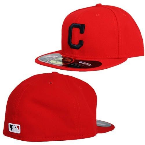 Cleveland Indians Alternate Performance 59Fifty Fitted Hat (Red)