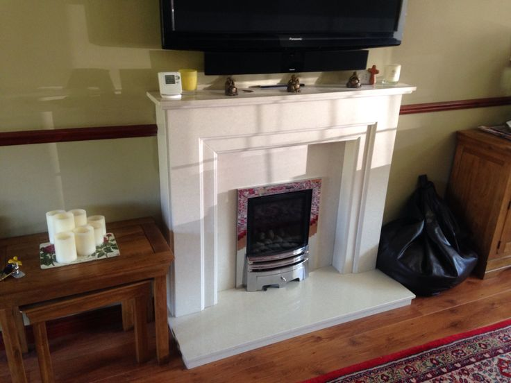 Fireplace Co Part - 23: Italic A Marble Fireplace Installed By Colesforfires.co.uk