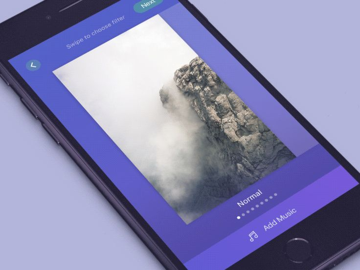 Add Music Flow Interaction by Vitaly Rubtsov