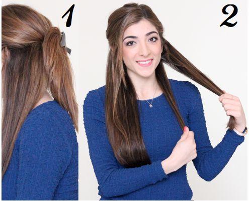 How to Get Beachy Waves Hair Tutorial
