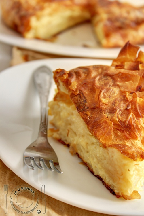 Gibanica ~ Cheese pie