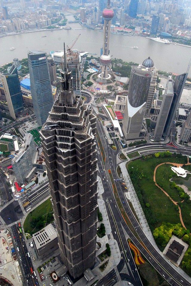 Jin Mao Tower, Pudong, Shanghai, China