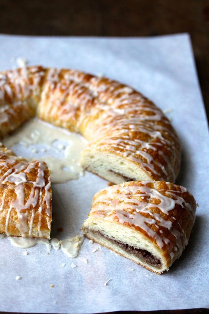 Karen's Kitchen Stories - Danish Pecan Kringle recipe
