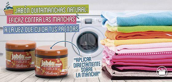 En Mercadona ya puedes encontrar al aliado que necesitabas para eliminar manchas difíciles y rozaduras en las prendas, el nuevo Jabón Quitamanchas Beltrán.