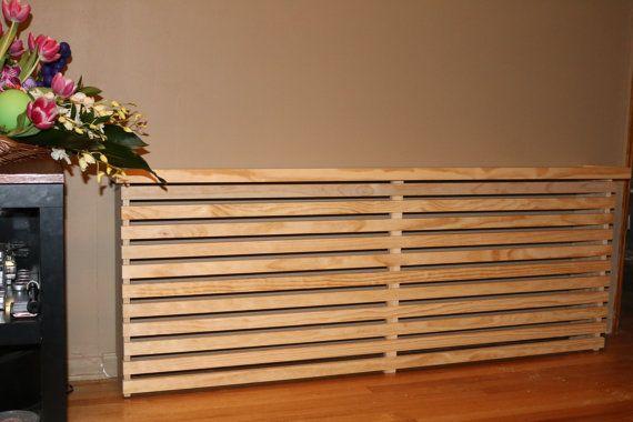 Oversized Wood Radiator Cover / Custom Handmade by WoodWarmth