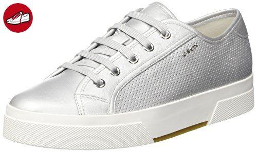 Geox Damen D Hidence A Sneakers, Silber (SILVERC1007), 37 EU (*Partner-Link)