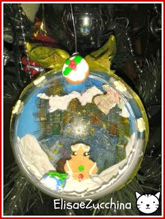 Handmade christmas ball by www.elisaezucchina.blogspot.it