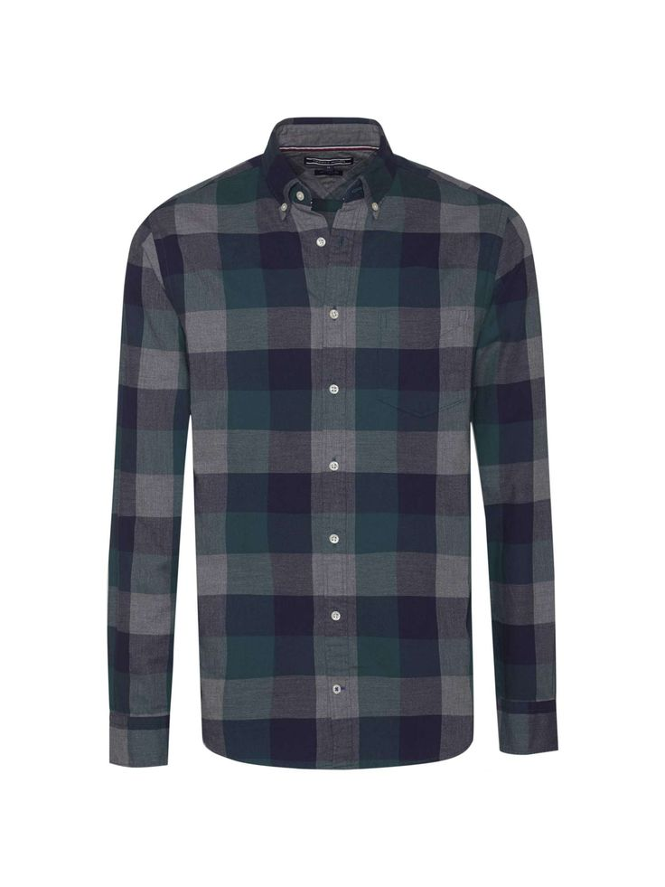 Buy your Tommy Hilfiger Flannel Gingham Shirt online now at House of Fraser. Why not Buy and Collect in-store?