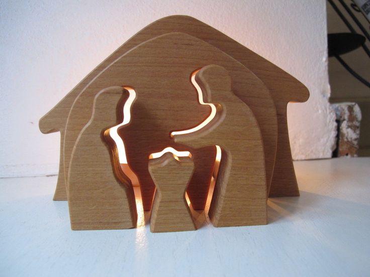 Krippe+Holzkrippe+Erle+geölt++klein+von+Alte+Posthalterei®+auf+DaWanda.com